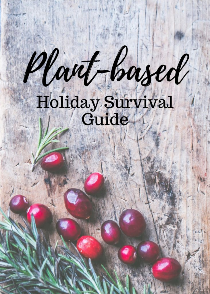 Holidays can be stressful but they don't have to be any more than usual just because you're vegan! This guide will help you navigate holiday celebrations and parties as a vegan/plant-based eater. #veganholiday #vegan #plantbased #veganxmas #veganchristmas