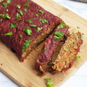 Easy Gluten Free Vegan Lentil Loaf Recipe