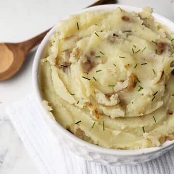 Healthy Vegan Mashed Potatoes