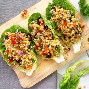 Vegan Maftoul Salad