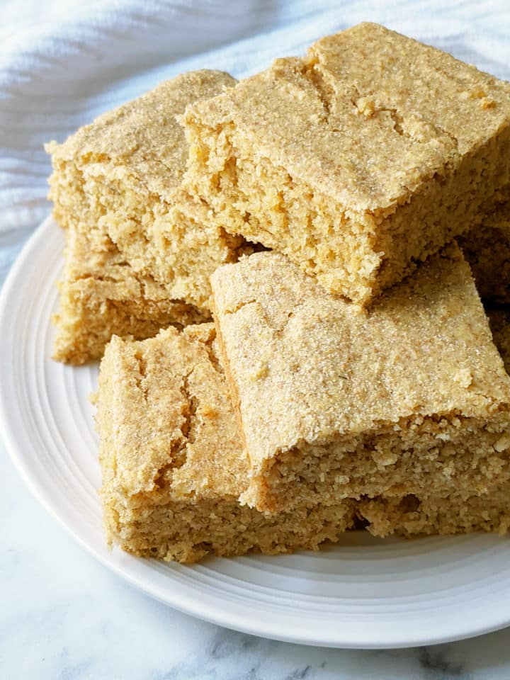 Healthy Vegan Cornbread