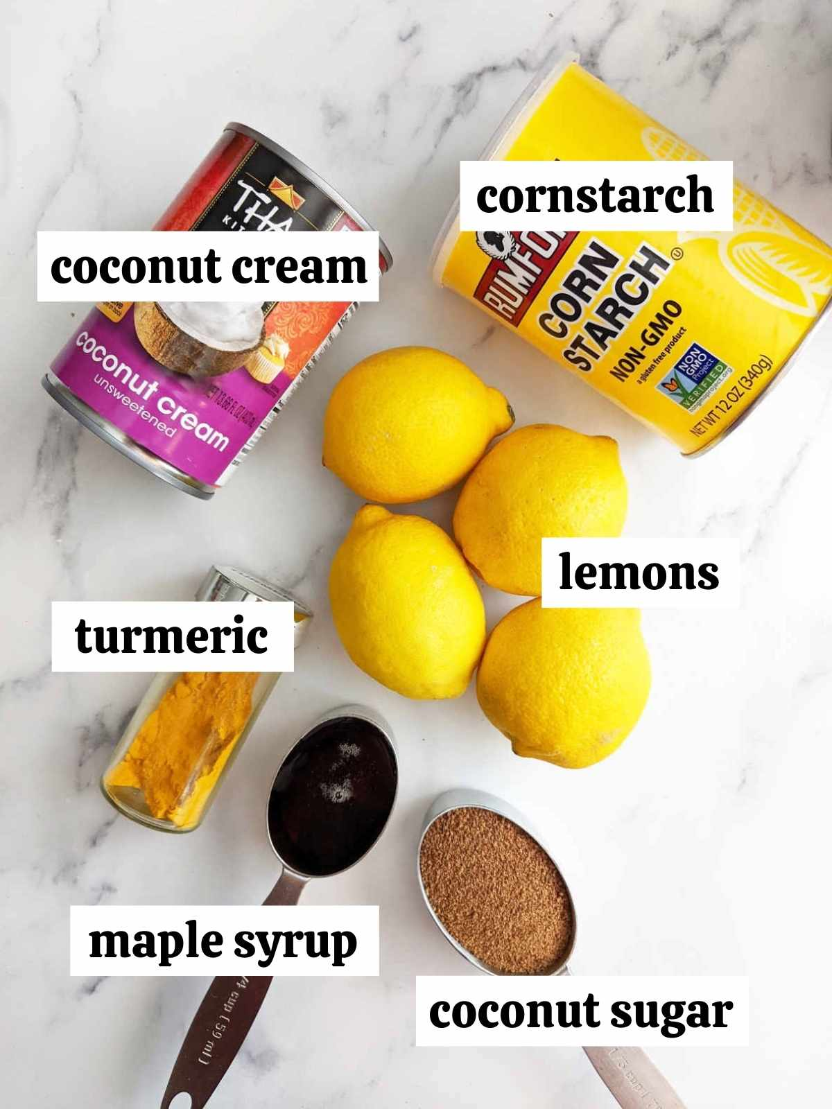 Filling ingredients labeled
